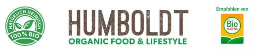 Bio Restaurant Humboldt. Restaurant. Bar.  Natürlich heimisch. Logo